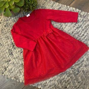 🧁H&M girls long sleeve tulle skirt bottom dress